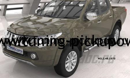 пороги для Mitsubishi L200 NEW 2015