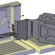 Схема установки HILUX 8 REVO